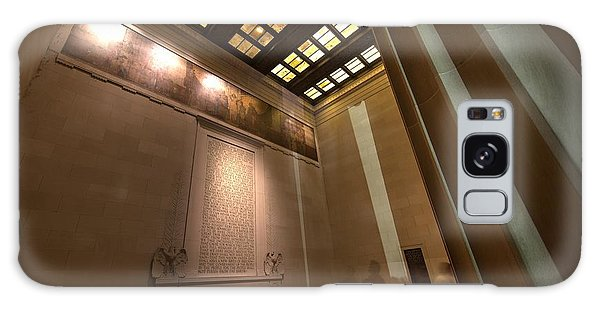 Galaxy Case featuring the photograph Gettysburg Address--inside The Lincoln Memorial by John King