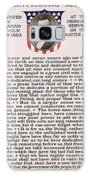 Gettysburg Address Galaxy Case