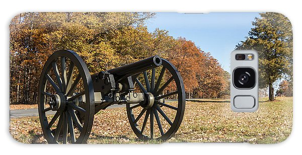 Gettysburg - Cannon In East Cavalry Battlefield Galaxy Case