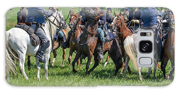 Gettysburg Cavalry Battle 7970c  Galaxy Case