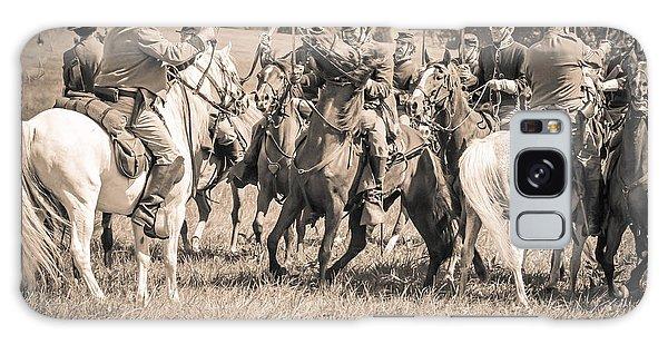 Gettysburg Cavalry Battle 7970s  Galaxy Case