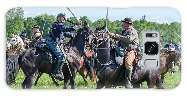 Gettysburg Cavalry Battle 7978c  Galaxy Case