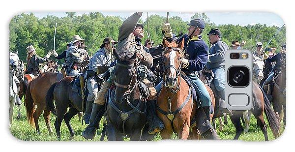 Gettysburg Cavalry Battle 7992c  Galaxy Case
