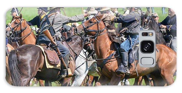 Gettysburg Cavalry Battle 8021c  Galaxy Case