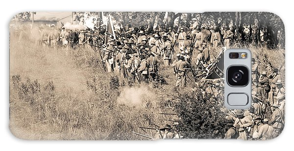 Gettysburg Confederate Infantry 8825s Galaxy Case