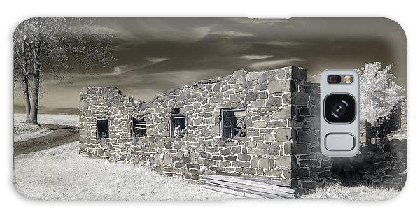 Gettysburg - Rose Farm Ruins Galaxy Case