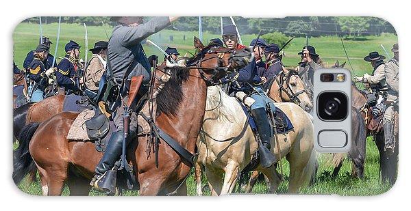 Gettysburg  Union Cavalry 7920c  Galaxy Case