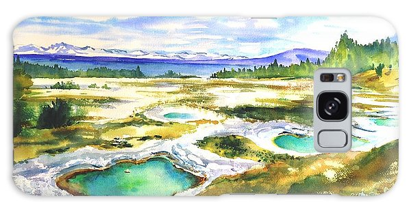 Geyser Basin, Yellowstone Galaxy Case