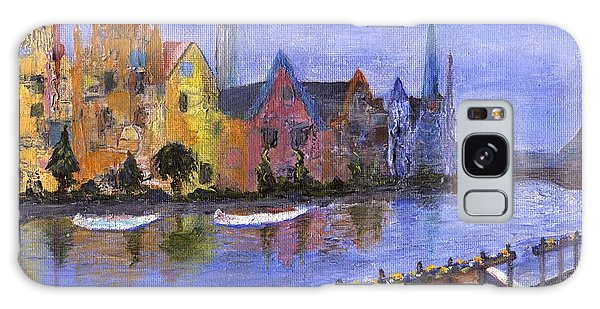 Galaxy Case featuring the painting Ghent by Jamie Frier