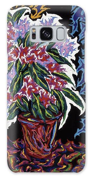 Ghost Flower Galaxy Case by Robert SORENSEN