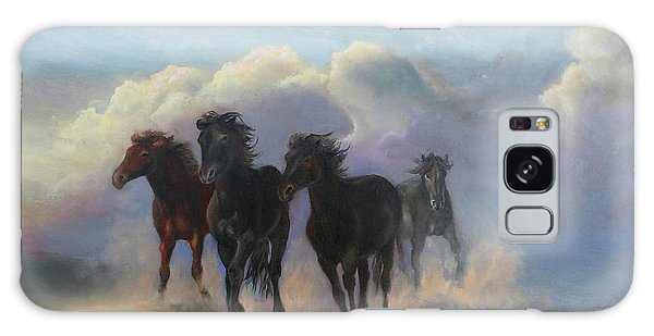 Ghost Horses Galaxy Case