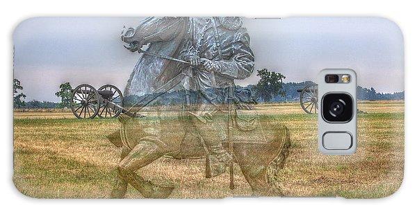 Ghost Of Gettysburg Galaxy Case by Randy Steele