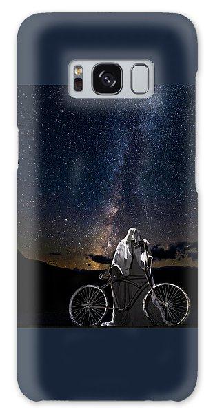 Ghost Rider Under The Milky Way. Galaxy Case