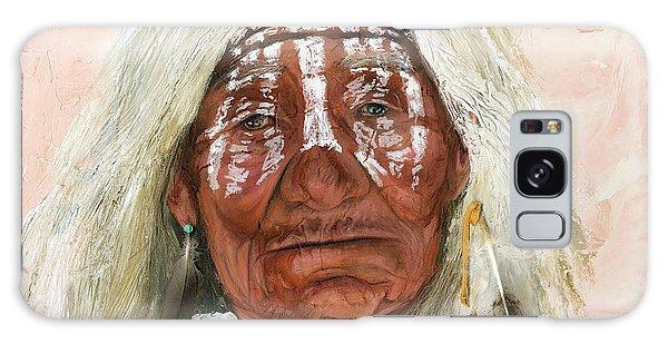 Native American Galaxy Case - Ghost Shaman by J W Baker
