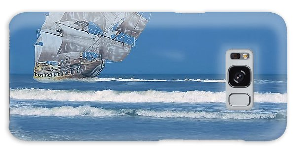 Ghost Ship On The Treasure Coast Galaxy Case