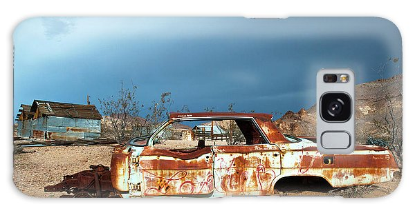 Ghost Town Old Car Galaxy Case by Catherine Lau