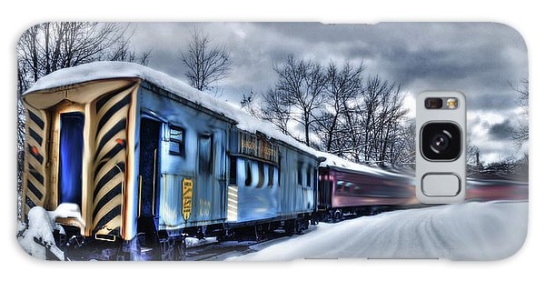 Ghost Train In An Existential Storm Galaxy Case