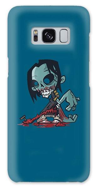 Ghoul T-shirt Galaxy Case by Herb Strobino