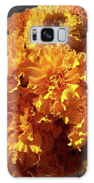 Giant Marigolds Galaxy Case