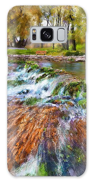 Giant Springs 2 Galaxy Case by Susan Kinney