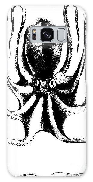 Scientific Illustration Galaxy Case - Octopus by Antonio Lafreri