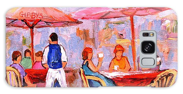 Gibbys Cafe Galaxy Case by Carole Spandau