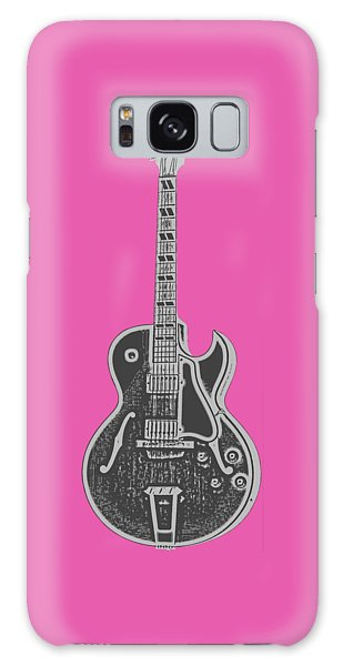 Gibson Es-175 Electric Guitar Tee Galaxy Case by Edward Fielding