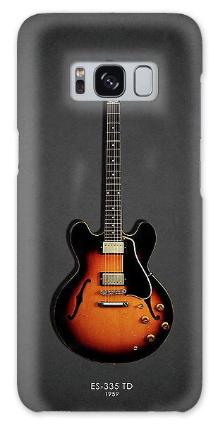 Rock And Roll Galaxy S8 Case - Gibson Es 335 1959 by Mark Rogan