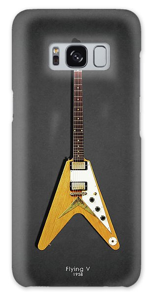Guitar Galaxy Case - Gibson Flying V by Mark Rogan