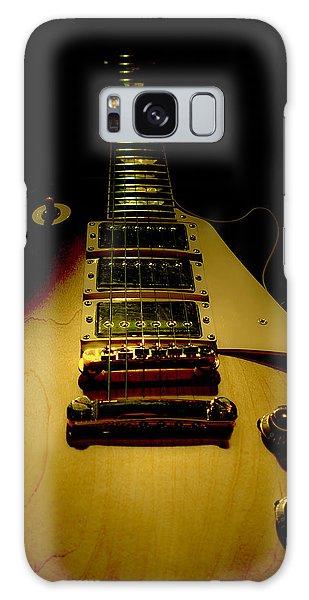 Galaxy Case featuring the digital art Guitar Triple Pickups Spotlight Series by Guitar Wacky