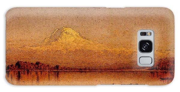 Gifford Sanford Robinson Mount Rainier Bay Of Tacoma Galaxy Case