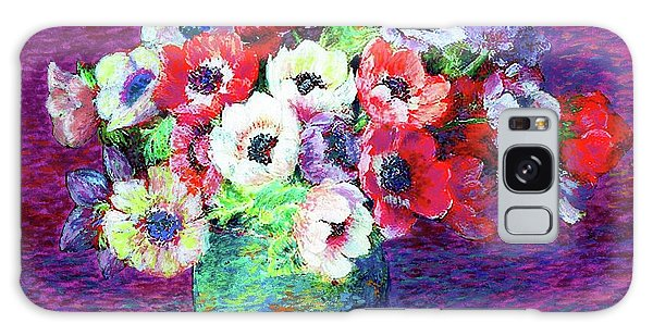 Gift Of Anemones Galaxy Case by Jane Small