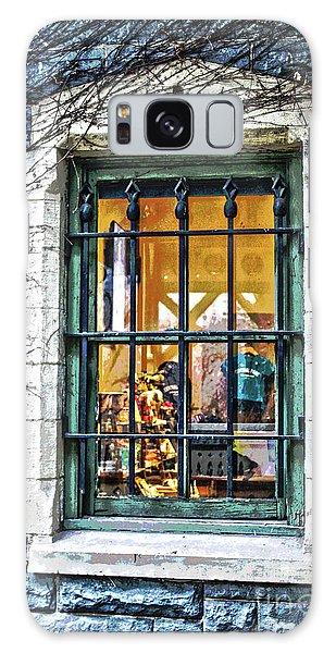 Gift Shop Window Galaxy Case by Sandy Moulder