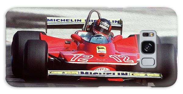 Gilles Villeneuve, Ferrari Legend - 01 Galaxy Case