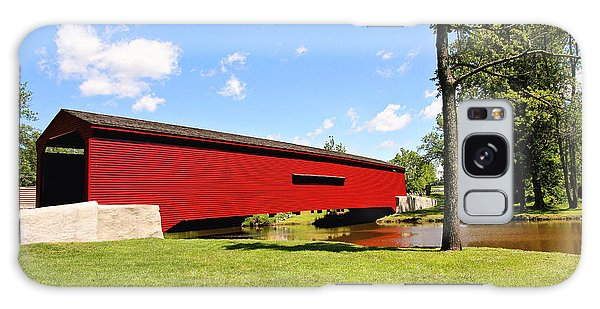 Gilpin's Falls Covered Bridge Galaxy Case