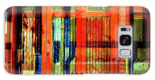 Gimmie A Sign Galaxy Case by Wayne Sherriff