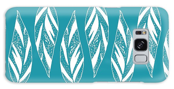 Ginger Leaf Lineup - Teal Galaxy Case