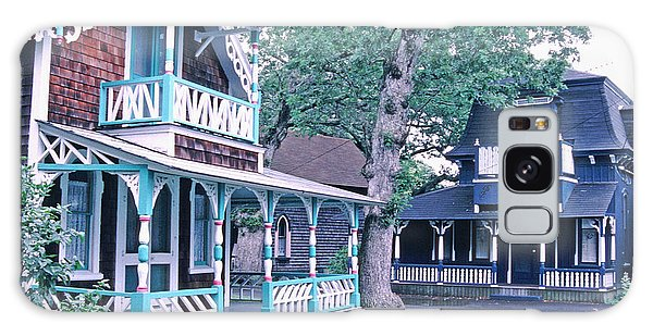 Gingerbread Houses Oak Bluff Martha's Vineyard Galaxy Case by Tom Wurl