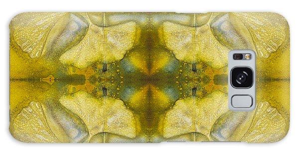 Galaxy Case featuring the photograph Gingko Quad by Joye Ardyn Durham