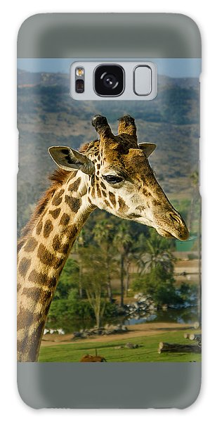 Giraffe Galaxy Case by April Reppucci