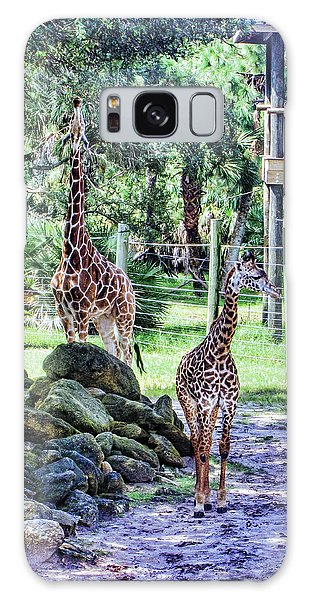 Giraffe Art I Galaxy Case
