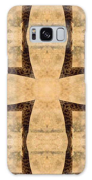 Giraffe Cross Galaxy Case