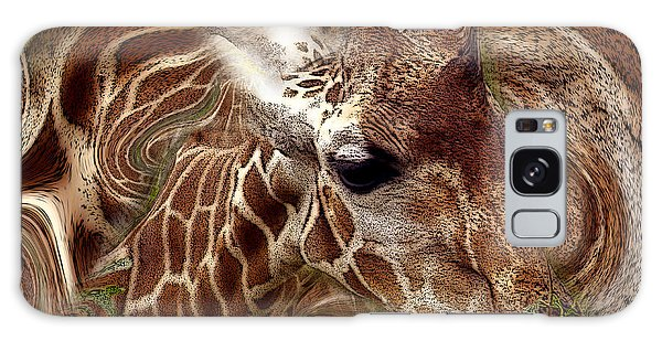 Giraffe Dreams No. 1 Galaxy Case