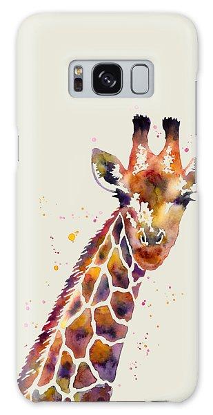 Tall Galaxy Case - Giraffe by Hailey E Herrera