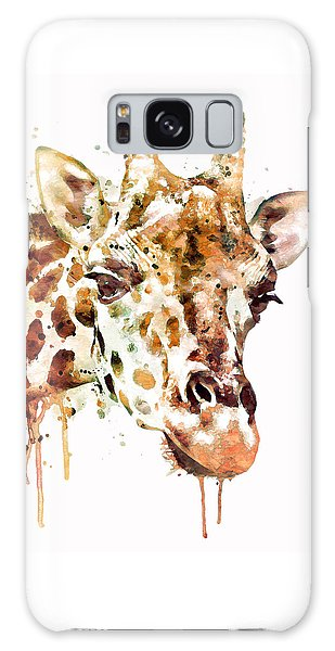 Giraffe Head Galaxy Case
