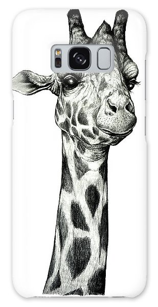 Giraffe Galaxy Case by Heidi Kriel