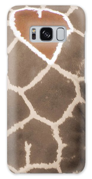 Giraffe Love Galaxy Case