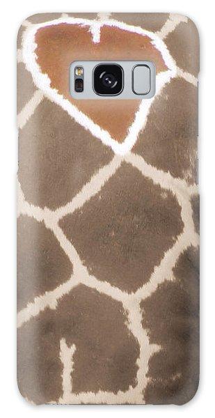 Giraffe Love Galaxy Case