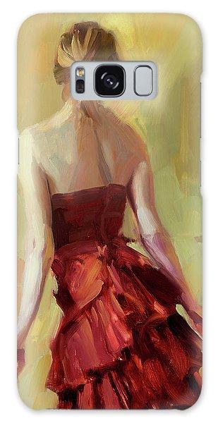 Dress Galaxy Case - Girl In A Copper Dress I by Steve Henderson