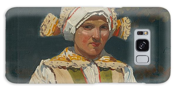 Girl In Costume, Antos Frolka, 1910 Galaxy Case